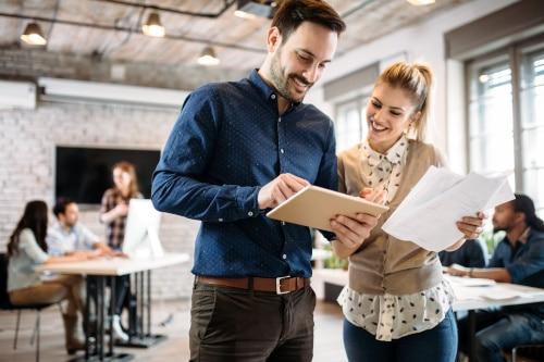 Weibliche und männliche Kommunikation im Beruf